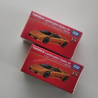 ディアブロ(Diavlo)のプレミアム◆ ランボルギーニ  ディアブロ SV  ×2台セット (ミニカー)