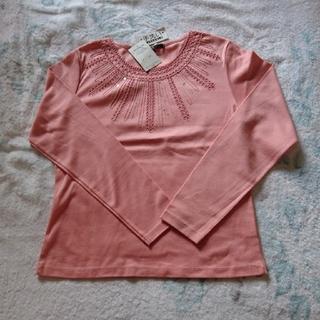 ニジュウサンク(23区)のサーモンピンクの長袖T (Tシャツ(長袖/七分))