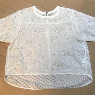 B.CSTOK購入。半袖レースブラウス☆(シャツ/ブラウス(半袖/袖なし))