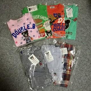 ダブルビー(DOUBLE.B)の新品 ダブルビー 半袖Tシャツ 半パン(Tシャツ)