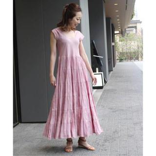 ノーブル(Noble)の間も無く終了☆MARIHA 草原の虹のドレス Noble購入 ピンク XS(ロングワンピース/マキシワンピース)