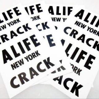 エーライフ(ALIFE)の■送料無料■【alife(エーライフ) CRACK /BIGステッカー】(その他)