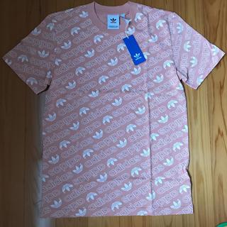 アディダス(adidas)のadidas originals トレフォイル総柄Tシャツ(Tシャツ/カットソー(半袖/袖なし))