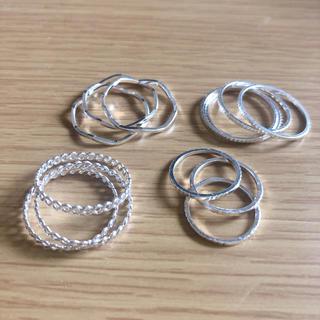 エイチアンドエム(H&M)のH&M シルバーリング 13個(リング(指輪))
