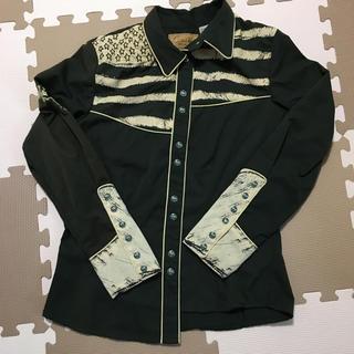 カントリーシャツ【Mサイズ相当】(シャツ/ブラウス(長袖/七分))