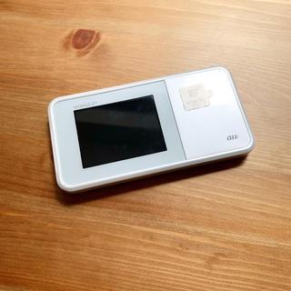 エヌイーシー(NEC)の【美品】AU WIMAX  Speed Wi-Fi NEXT W03(スマートフォン本体)