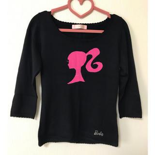edfbf52c5c バービー(Barbie)のBarbie スワロフスキーニット(ニット/セーター)