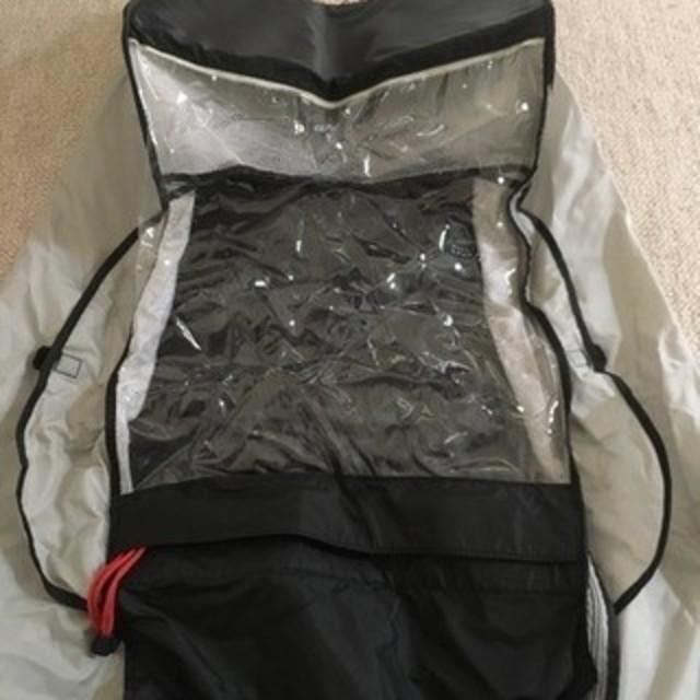 OGK(オージーケー)の美品 OGK製ヘッドレスト付リヤチャイルドシート対応レインカバー キッズ/ベビー/マタニティの外出/移動用品(自転車)の商品写真