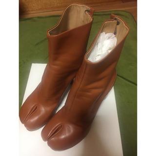 マルタンマルジェラ(Maison Martin Margiela)の未使用メゾンマルジェラmaison margiela足袋ブーツ39ブラウン(ブーツ)