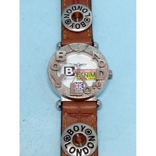 ボーイロンドン(Boy London)の(33)ボーイロンドンBOY・LONDON電池交換済みシルバーウォッチ送料無料(腕時計)