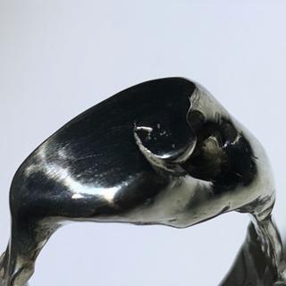 マルタンマルジェラ(Maison Martin Margiela)の▪︎Uimp▪︎ silver signetring リング スクエアリング(リング(指輪))