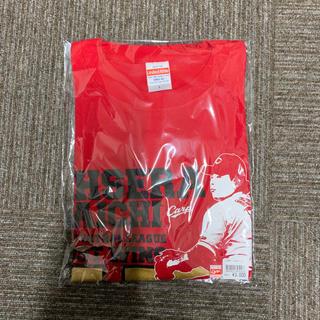 ヒロシマトウヨウカープ(広島東洋カープ)の大瀬良大地 最多勝記念Tシャツ Mサイズ 広島カープ(ウェア)