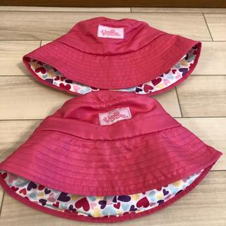 コストコ(コストコ)のコストコ キッズ ハット ピンク 帽子 女の子 3個セット(帽子)