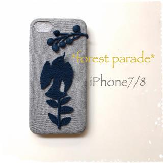 mina perhonen - forest parade*iPhone7/8*ネイビー