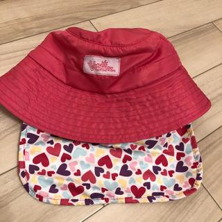 コストコ(コストコ)のコストコ UVSKINZ キッズ (女の子 ピンク)バケットハット(帽子)
