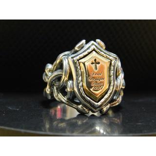極美品 ディールデザイン メドゥーサリング 16号 指輪