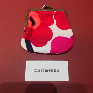 マリメッコ(marimekko)の新品 未使用 正規品 marimekko マリメッコ コインケース がま口 (コインケース)