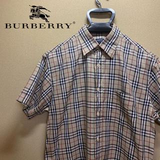 バーバリー(BURBERRY)の【美品】Burberry バーバリー ノバチェックシャツ M(シャツ)