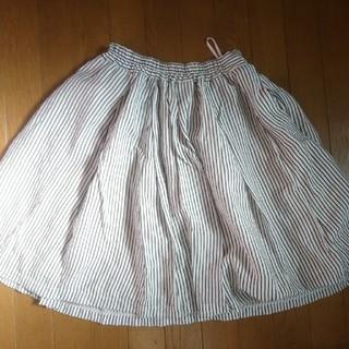 バビロン(BABYLONE)の【BABYLONE】ストライプスカート(ひざ丈スカート)
