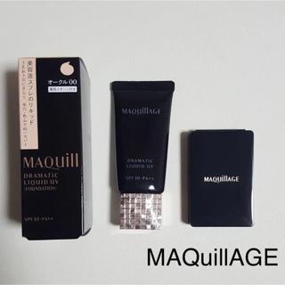 マキアージュ(MAQuillAGE)のMAQuillAGEドラマティックリキッドUVファンデーション (ファンデーション)