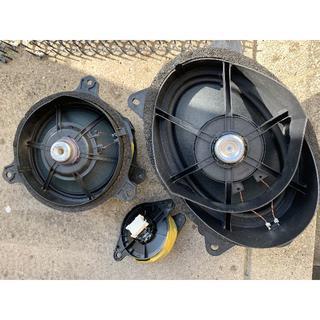 ニッサン(日産)の日産スカイラインクーペ370GT オリジナルスピーカー左右セット3Way6個(カーオーディオ)