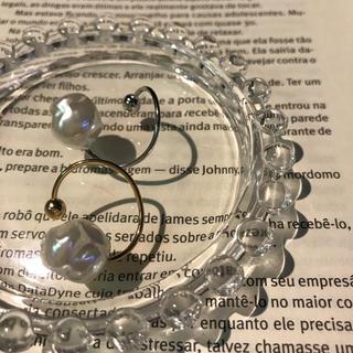 ユナイテッドアローズ(UNITED ARROWS)のパール付きリング  GW SALE(リング(指輪))