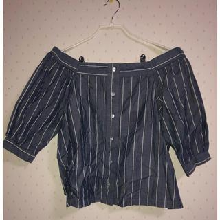 ジーユー(GU)のオフショル(シャツ/ブラウス(半袖/袖なし))