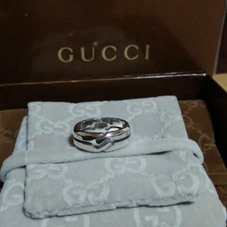 グッチ(Gucci)の☆鏡面仕上げ☆ 16号表記 GUCCI ノットリング リング 指輪(リング(指輪))