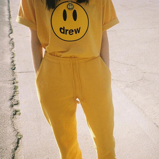 新品未使用 Drew House Mascot SS Tee Yellow(Tシャツ(半袖/袖なし))