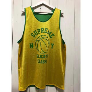 シュプリーム(Supreme)の美品 supreme リバーシブル バスケジャージ(バスケットボール)