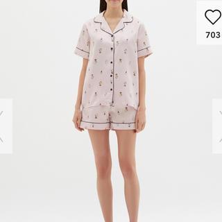 ジーユー(GU)のGU新作  スヌーピーパジャマ未使用(パジャマ)