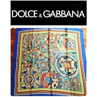 ドルチェアンドガッバーナ(DOLCE&GABBANA)のドルガバ スカーフ(新品未使用)(バンダナ/スカーフ)