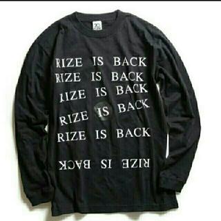 RIZE ロンT Sサイズ ファンクラブ限定(Tシャツ/カットソー(七分/長袖))