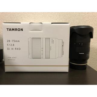 タムロン(TAMRON)のTAMRON A036 28-75mm F2.8  Di Ⅲ RXD(レンズ(ズーム))