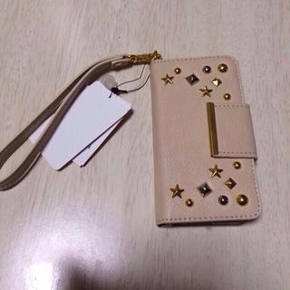 シマムラ(しまむら)のiPhone5/5sカバースタッズ付き(その他)