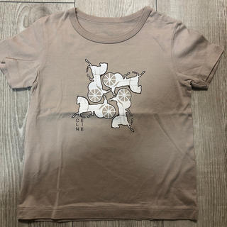 セリーヌ(celine)の美品 セリーヌ 90サイズ Tシャツ(Tシャツ/カットソー)