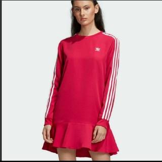 アディダス(adidas)の新品タグ付きアディダスワンピース(ミニワンピース)