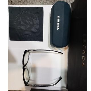 ディーゼル(DIESEL)のディーゼル.DIESEL 伊達眼鏡 付属品有り(サングラス/メガネ)