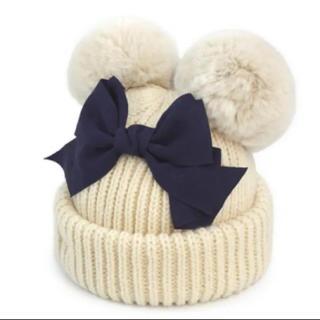 カシラ(CA4LA)のカシラ  ニット帽  ポンポン(ニット帽/ビーニー)