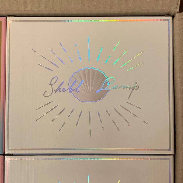 Francfranc(フランフラン)の新品未使用 フランフラン シェルランプ ホワイト インテリア/住まい/日用品のライト/照明/LED(テーブルスタンド)の商品写真