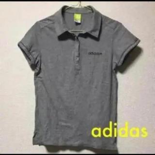 アディダス(adidas)のadidas  グレー    Tシャツ(Tシャツ(半袖/袖なし))