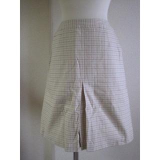 バーバリー(BURBERRY)のThomas Burberry・Sボックスプリーツスカート♭2610(ひざ丈スカート)