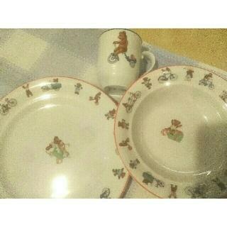 ロイヤルコペンハーゲン(ROYAL COPENHAGEN)のロイヤルコペンハーゲン ジュリアス キッズ食器(プレート/茶碗)