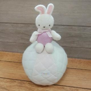 ファミリア(familiar)のファミリア☆ウサギの起き上がりこぼし(がらがら/ラトル)