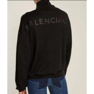 バレンシアガ(Balenciaga)のバレンシアガ*トップス ハイネック ロゴ(トレーナー/スウェット)