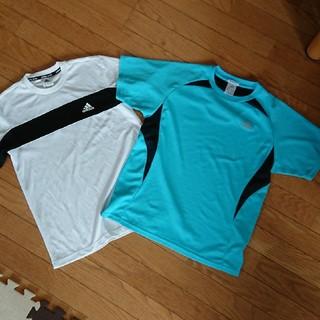 アディダス(adidas)のスポーツ ウエア 2枚 セットテニス メンズM(ウェア)