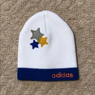 アディダス(adidas)のアディダス ニットキャップ キッズ(帽子)