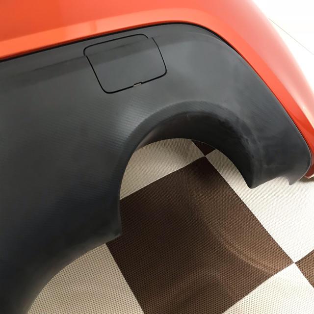 トヨタ(トヨタ)のTOYOTA86(ZN6) 前期 (オレンジ) 純正リアバンパー&純正リアフォグ 自動車/バイクの自動車(車種別パーツ)の商品写真