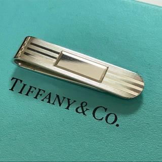ティファニー(Tiffany & Co.)のティファニー 鏡面ストライプ ネクタイピン タイピン タイバー  ショート(ネクタイピン)