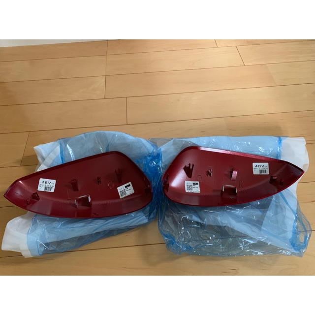 マツダ(マツダ)のCX8純正ドアミラーカバー レッド 自動車/バイクの自動車(車種別パーツ)の商品写真